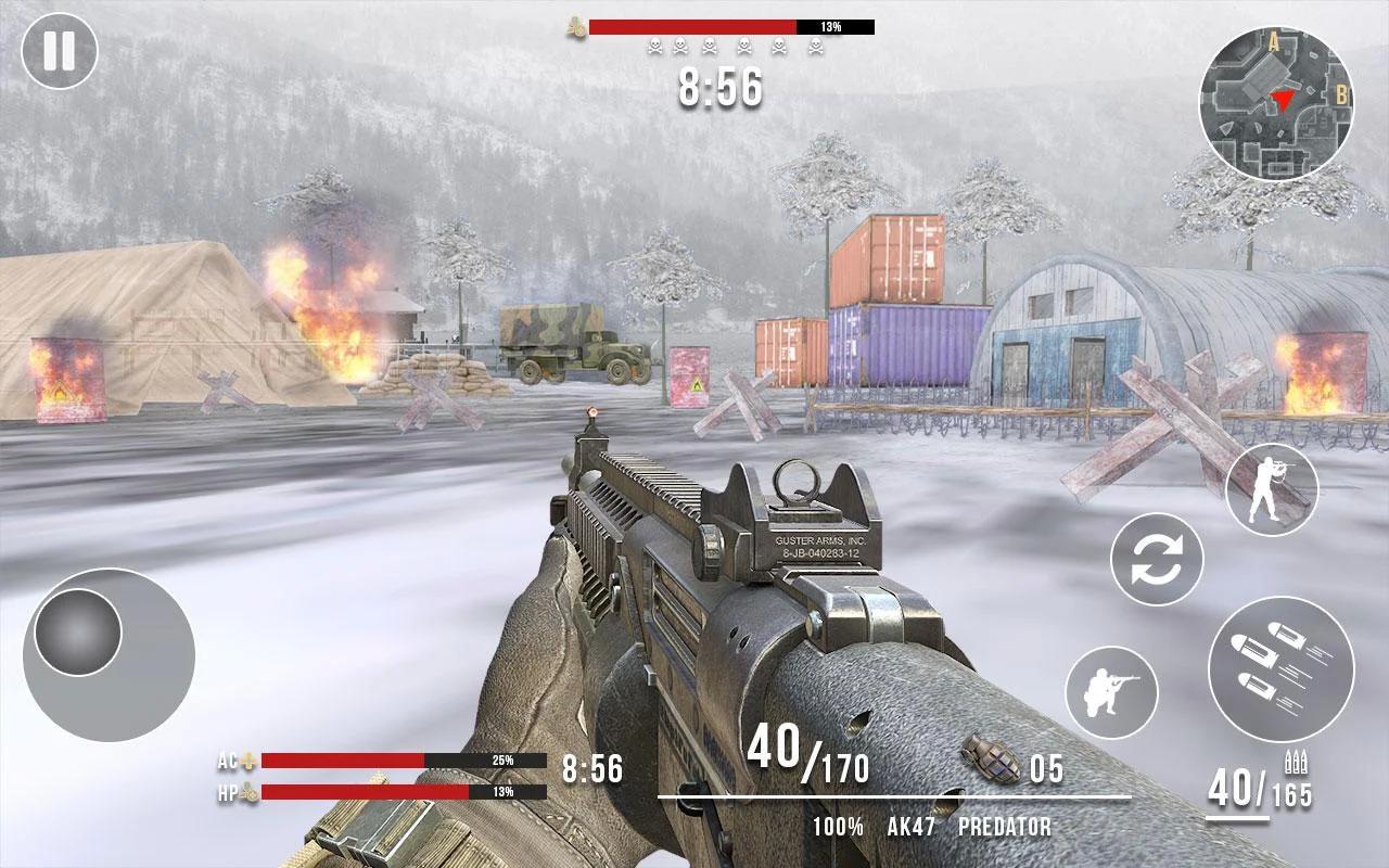 Deadly Assault 2018 - Winter Mountain Battleground Apk