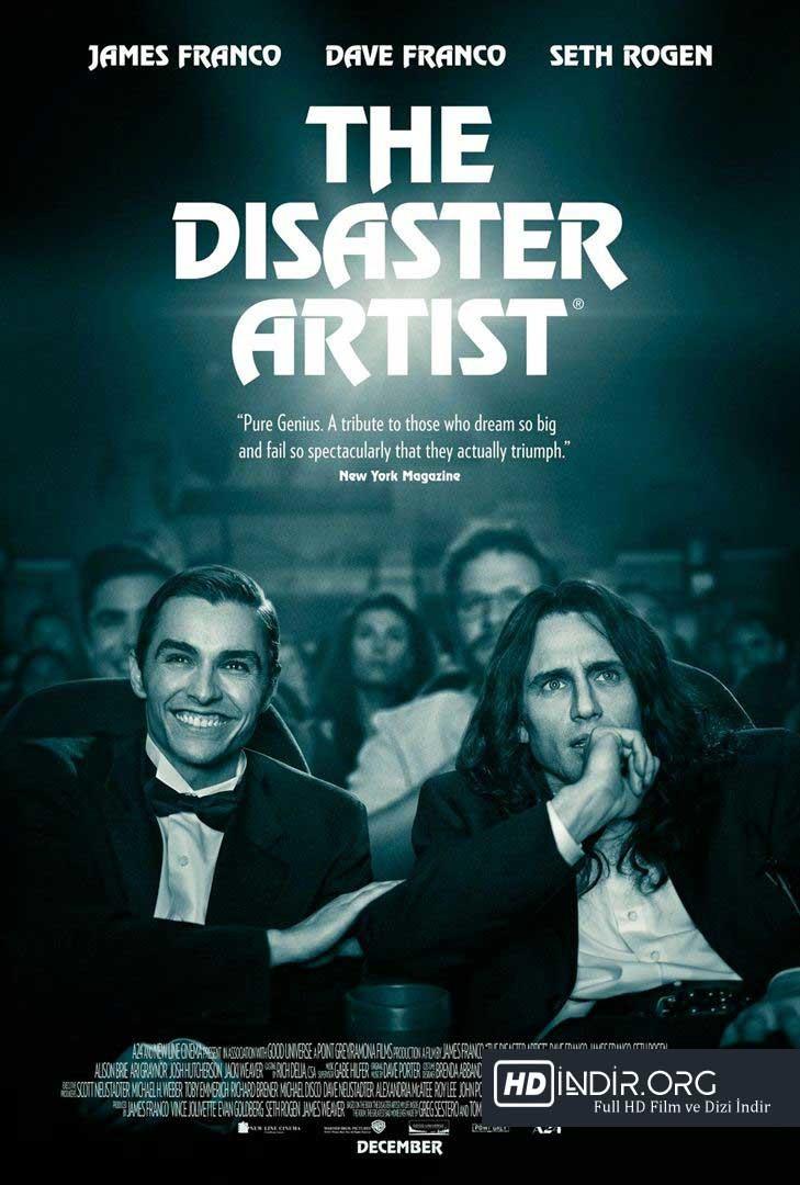 Felaket Sanatçı - The Disaster Artist (2017) Türkçe Dublaj m1080p İndir