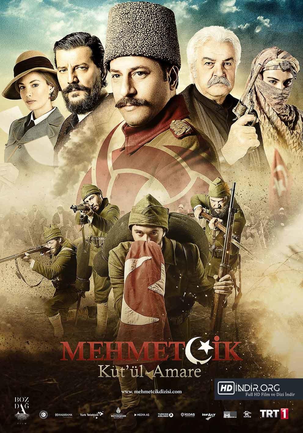 Mehmetçik Kut'ül Amare 12. Bölüm İndir (19 Nisan 2018) Tek Link HD
