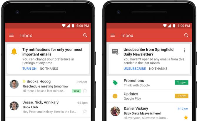 yeni mobil gmail