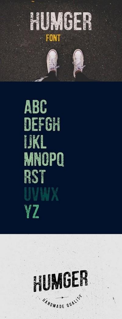 Humger Font Windows-Mac