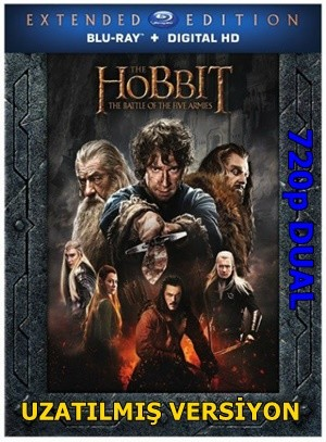 Hobbit: Beş Ordunun Savaşı 2014 EXTENDED BluRay 720p x264 DUAL TR-EN – Tek Link