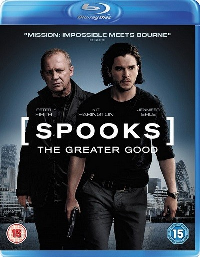 Casuslar - Spooks The Greater Good 2015 m720p BluRay x264 Türkçe Dublaj - Tek Link