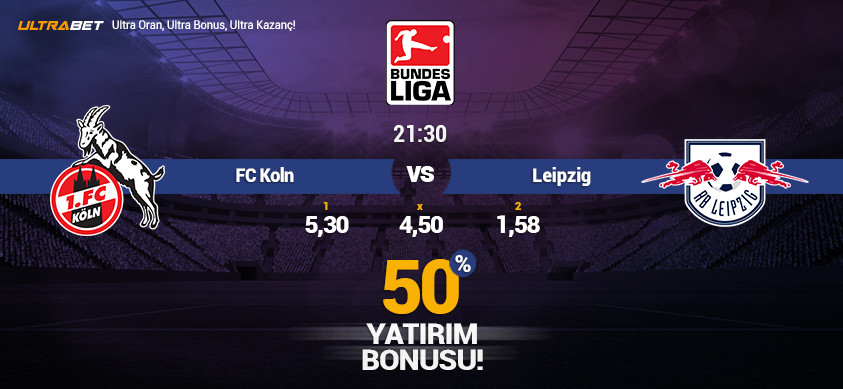 FC Koln vs RB Leipzig - Canlı Maç İzle