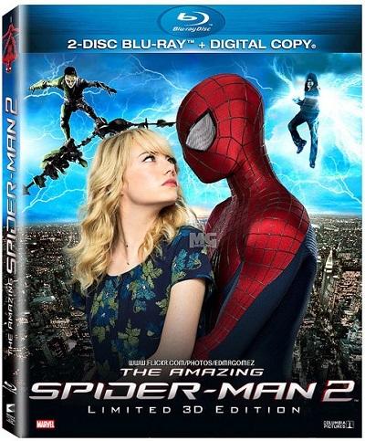 İnanılmaz Örümcek-Adam 2 – The Amazing Spider-Man 2 2014 (3D Half-SBS – 1080p) DUAL Tek Link