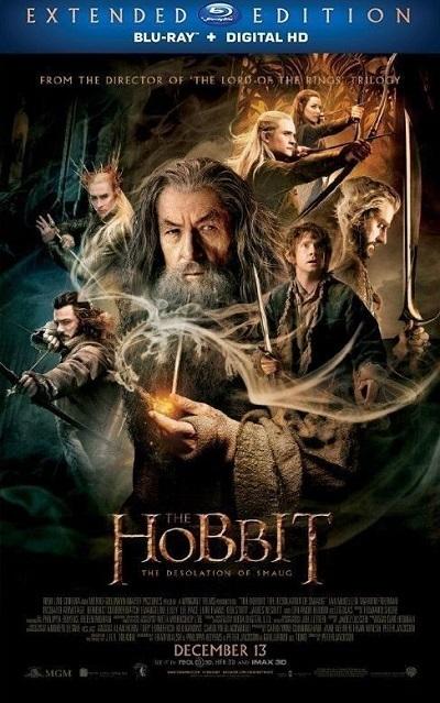 Hobbit: Smaug'un Çorak Toprakları 2013 Extendet Cut 3D HSBS 1080p Bluray x264 Türkçe Dublaj