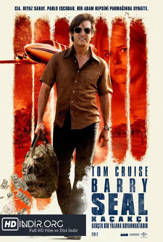 Barry Seal: Kaçakçi - American Made (2017) Türkçe Dublaj HD Film indir