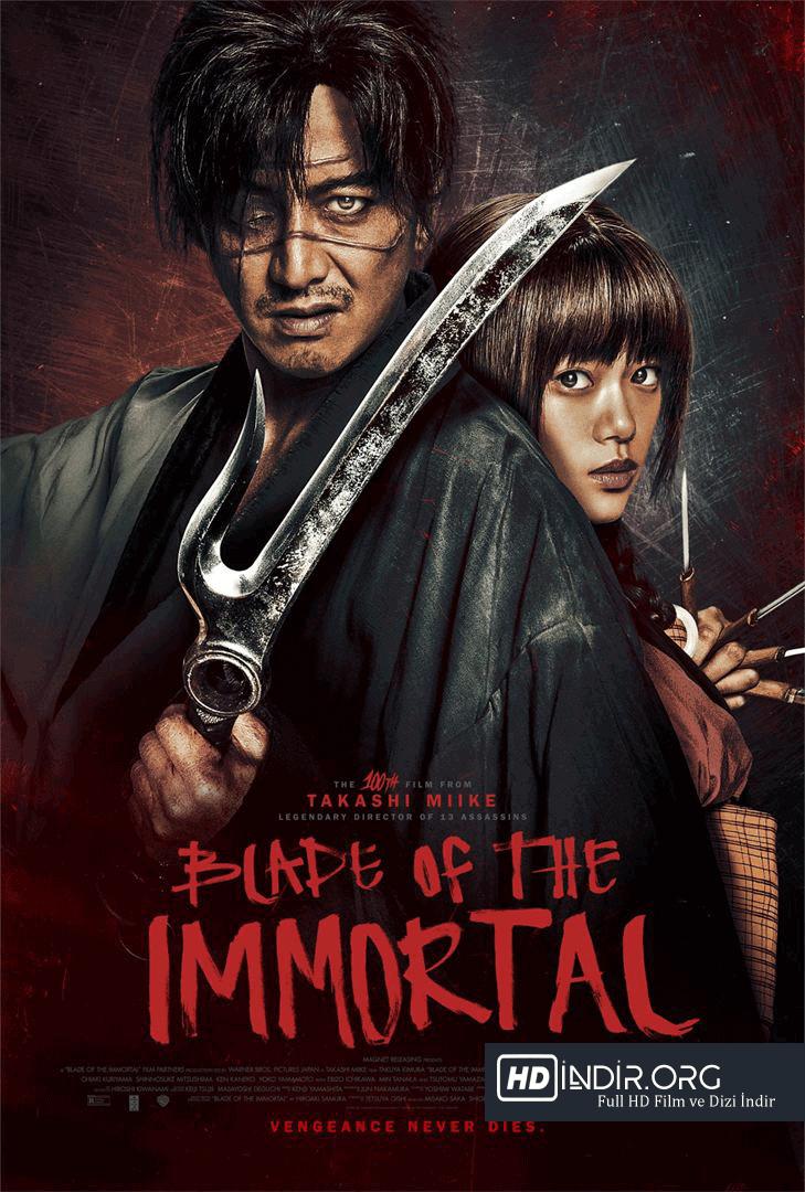 Ölümsüz Kılıç - Blade of the Immortal (2017) Türkçe Dublaj HD Film indir