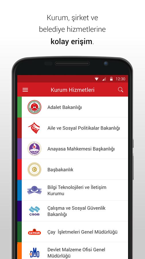 e-Devlet Kapısı Android Apk
