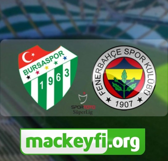 Süper Lig Bursaspor - Fenerbahçe (08.12.2017) HDTV 1080p  - okaann27