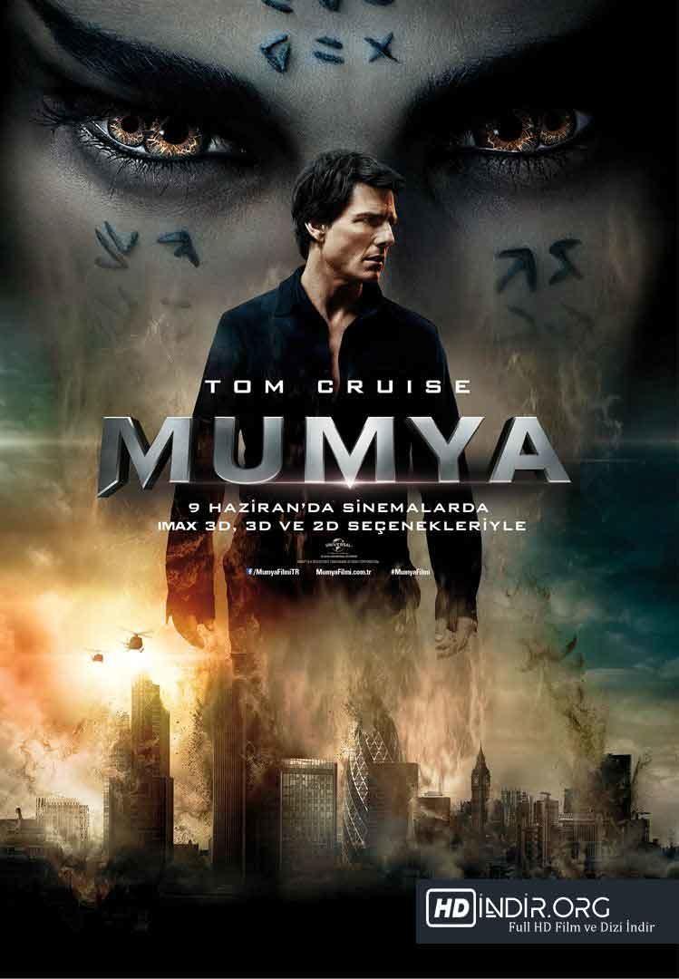 Mumya - The Mummy (2017) Türkçe Dublaj HD İndir