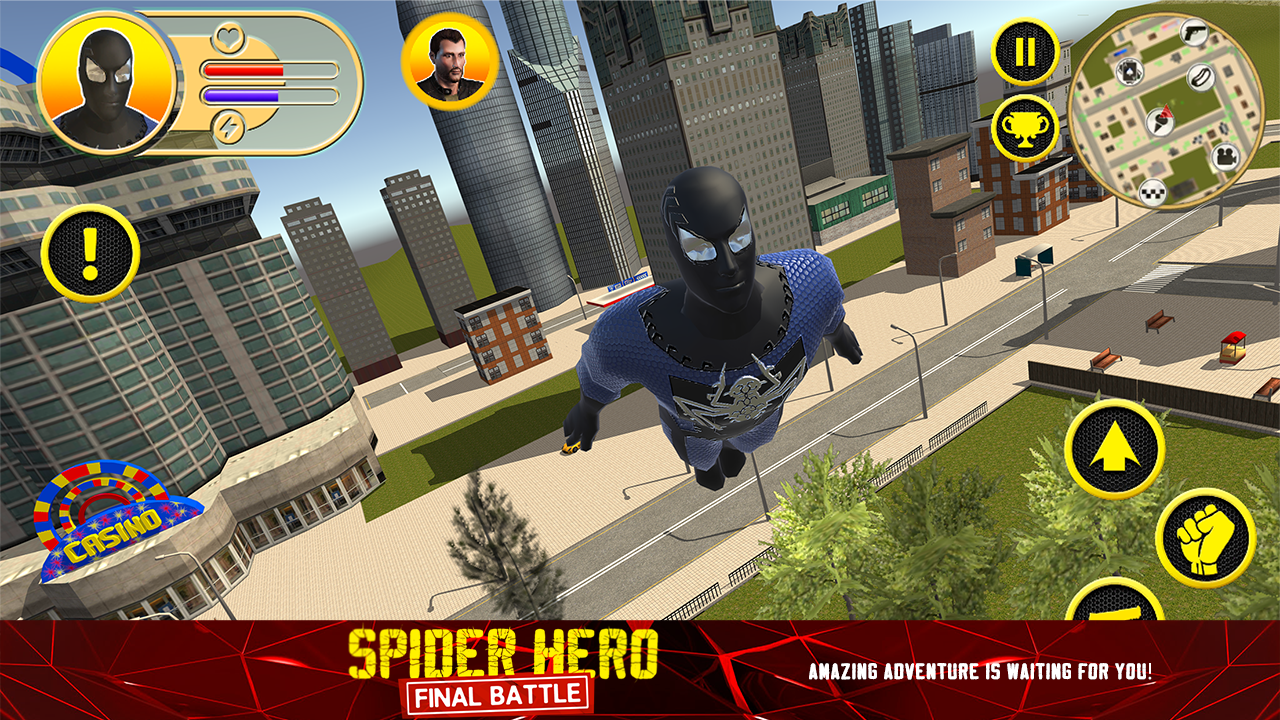 Spider Hero: Final Battle Android