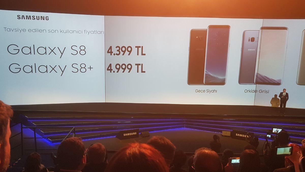 Samsung Galaxy S8 Teknik Özellikleri