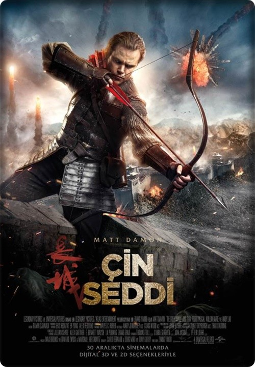 Çin Seddi - The Great Wall 2016 (Türkçe Dublaj) BDRip XviD