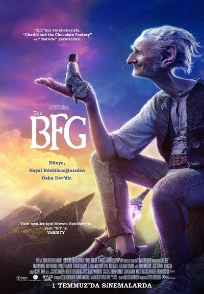 İyi Kalpli Koca Adam – The BFG (The Big Friendly Giant) 2016 BRRip XViD Türkçe Dublaj – Film indir