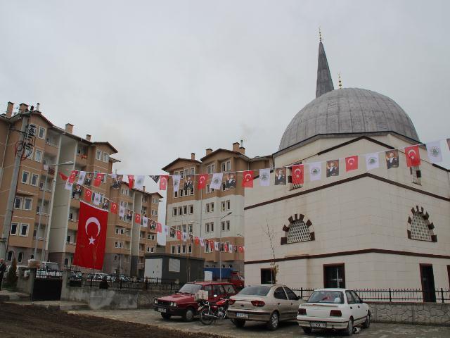 Mudurnu  Toki Camii açıldı