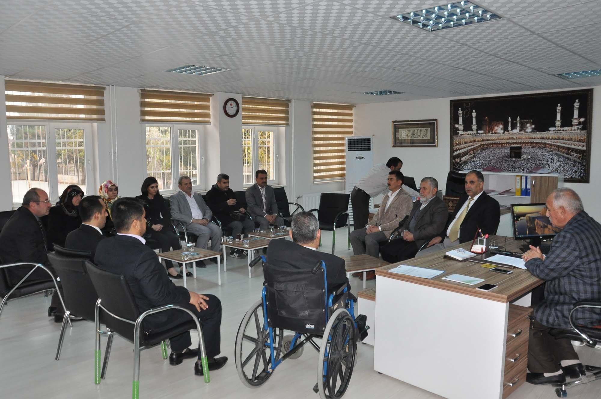Müftü Mehmet Ali Öztürkçü, Engellilerin Sorunlarını Dinledi