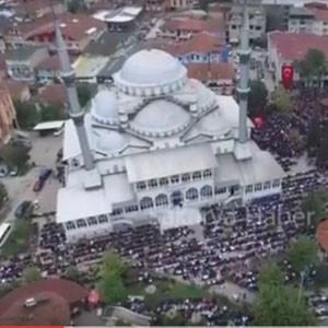 Şehit Furkan Çelik Cenaze Töreni Havadan Çekim (Şiirli)