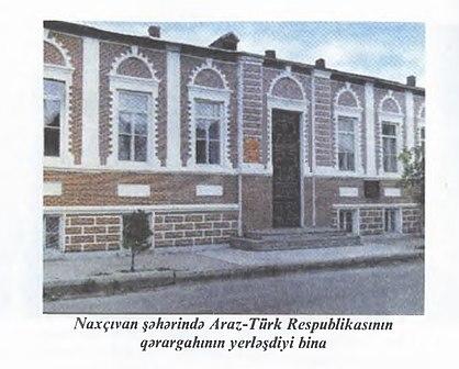 NAXÇIVAN CÜMHURİYYƏTİ: Araz-Türk Demokratik Cümhuriyyəti