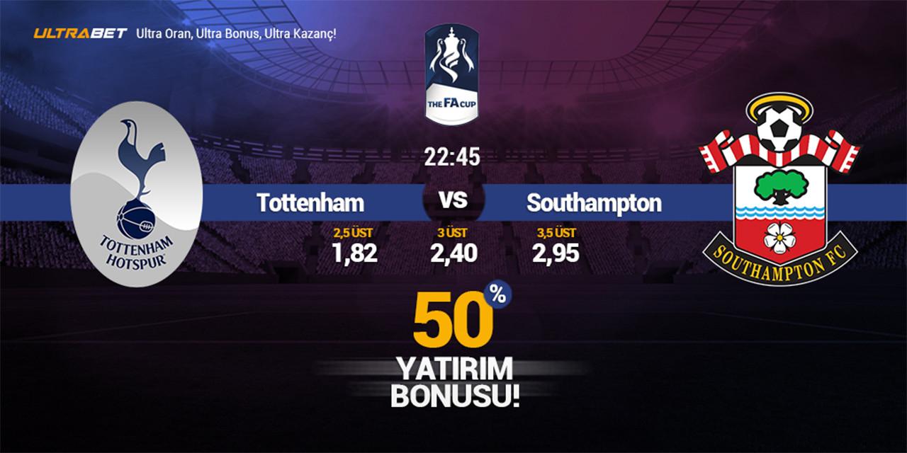Tottenham – Southampton Canlı Maç İzle