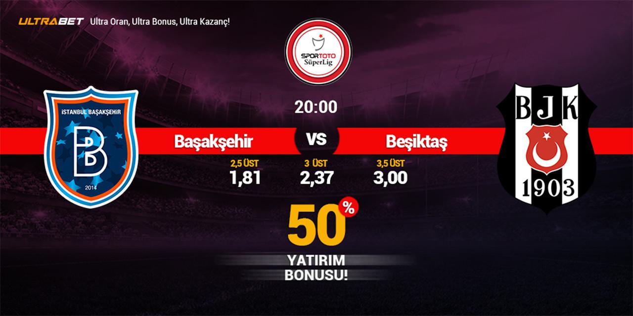 Başakşehir - Beşiktaş Canlı Maç İzle