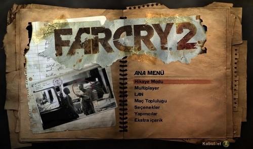 RO5Qj6 Far Cry 2 Bilgisayar Oyunu Full Türkçe Yapma Yaması İndir