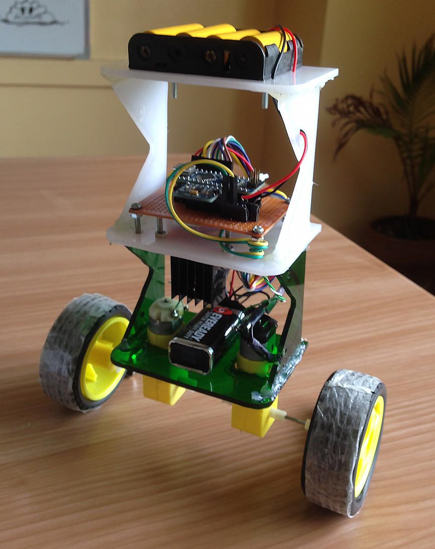 Arduino balancing robot - Arduino Pinterest - Arduino