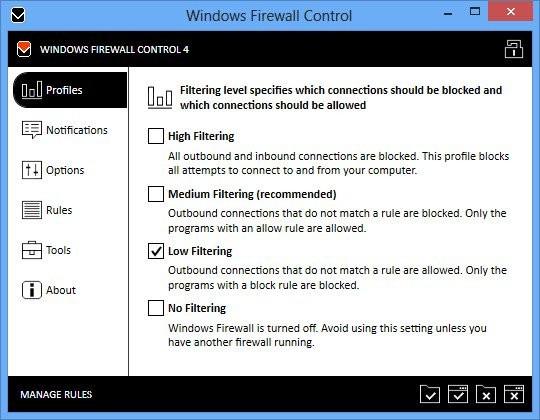Windows Firewall Control 4.9.9.4 Multilingual Full İndir