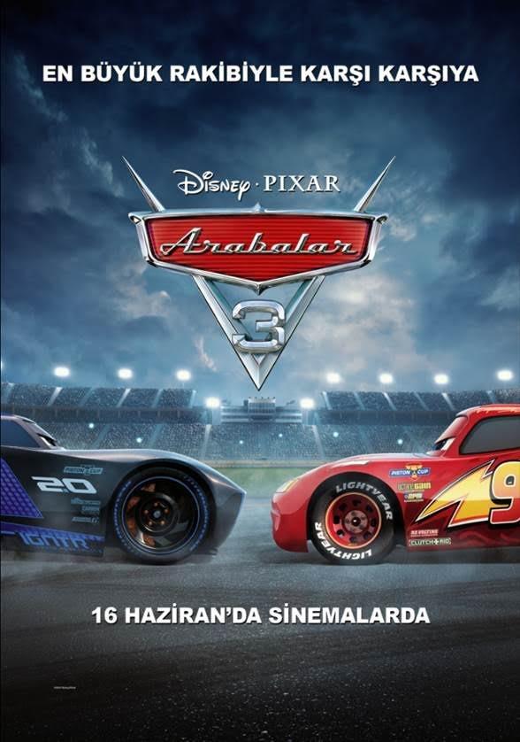 Arabalar 3 2017 Türkçe Dublaj izle