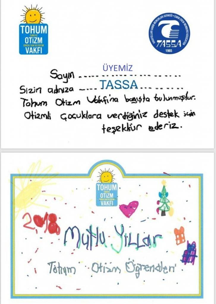 Tassa'nın yeni yıl hediyesi