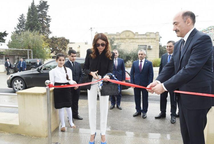 Birinci vitse-prezident Mehriban Əliyeva açılış mərasimində iştirak edib