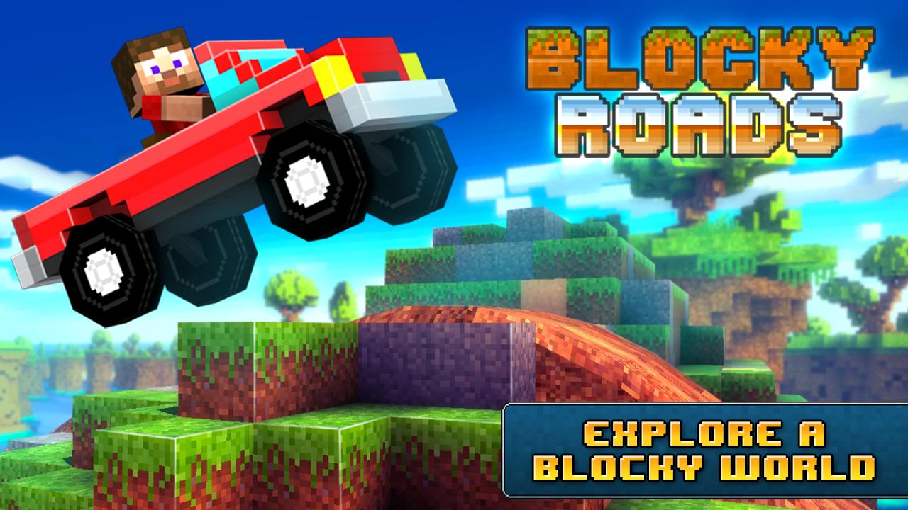 Blocky Roads Apk Mod