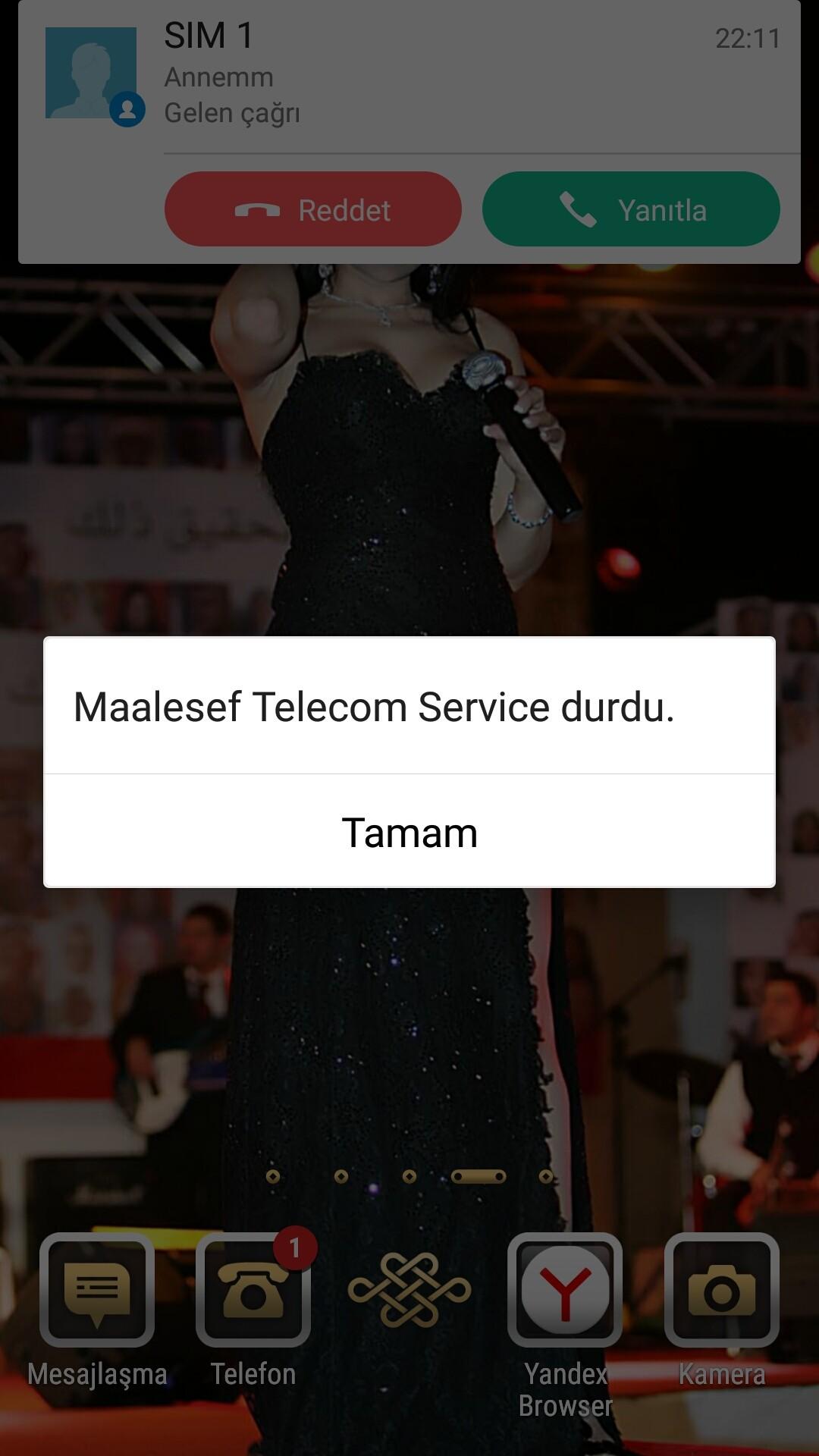 asus telecom service hatasi