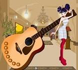 Gitarcı Kızı Giydir Oyunu