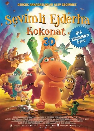 Sevimli Ejderha: Kokonat 2014 DVDRip XviD Türkçe Dublaj – Tek Link