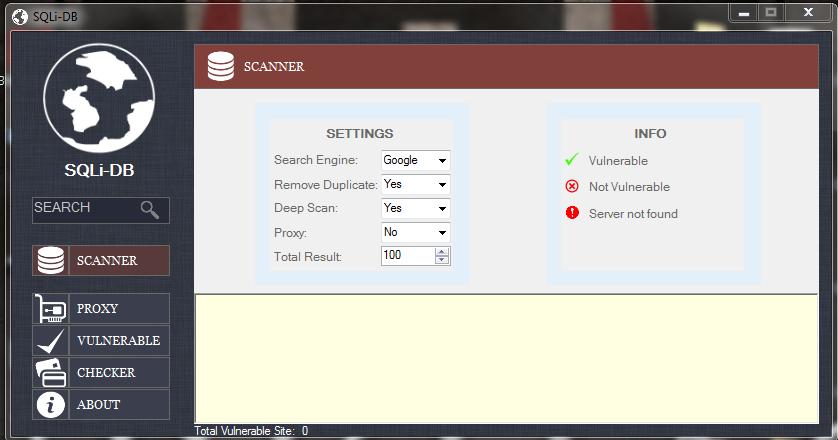 SQLi-DB ( Sql Site Tarayıcı )