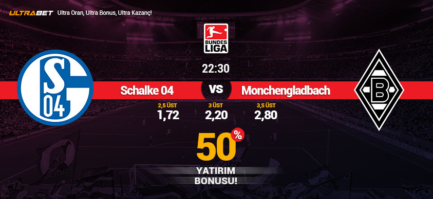 Schalke 04- M.gladbach Canlı Maç İzle