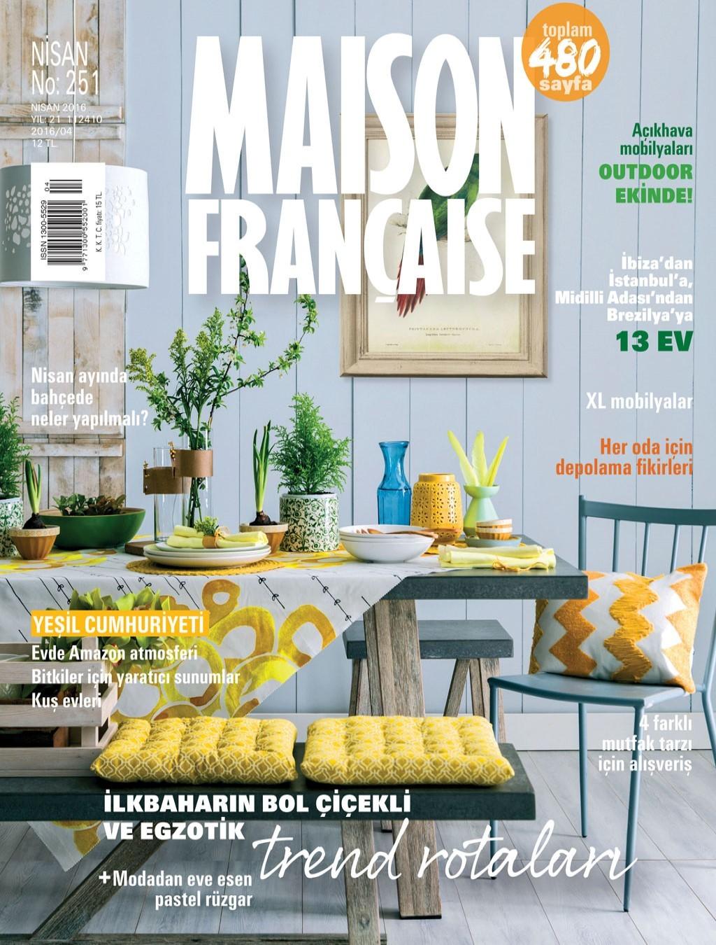 Maison Francaise Nisan 2016 PDF Dergi indir