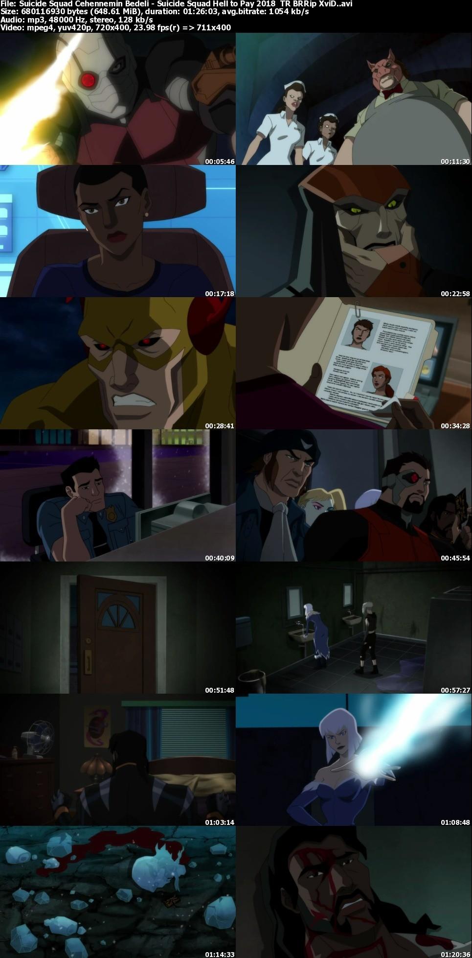 Suicide Squad: Cehennemin Bedeli - 2018 - BRRip - 1080p - Türkçe Dublaj