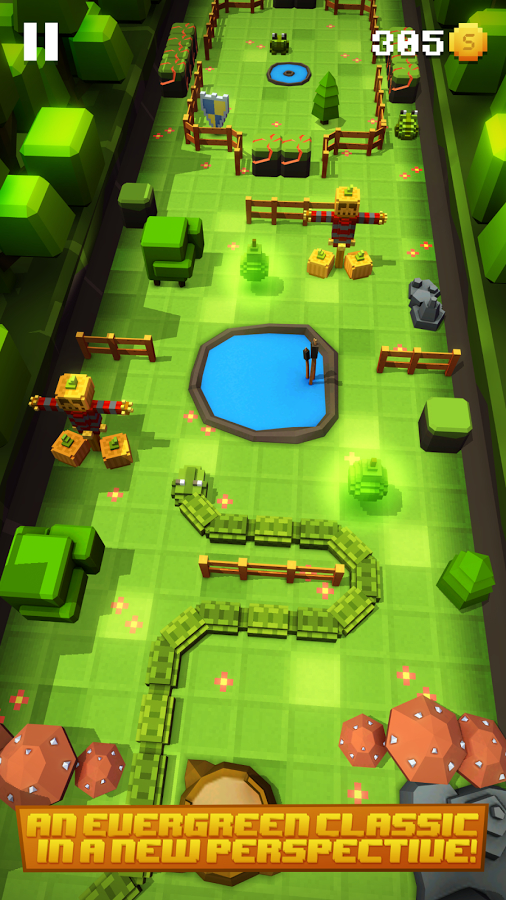 Blocky Snakes Android Oyun