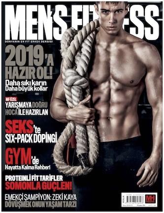 Men's Fitness Aralık 2018