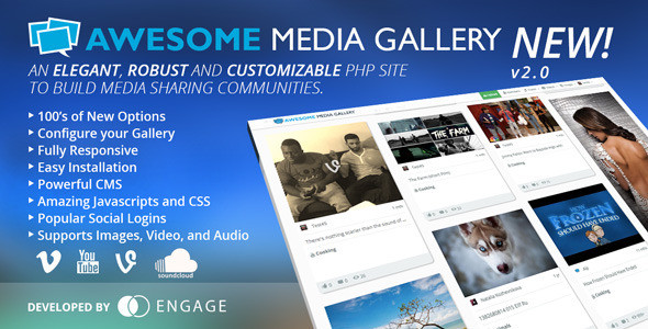 Ücretsiz Resim/Video Galerisi Scripti