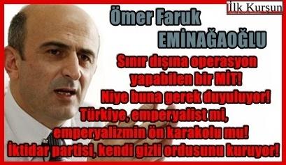 Ömer Faruk Eminağaoğlu: Terör ve mahkemeleri, MİT tabelasıyla devrede