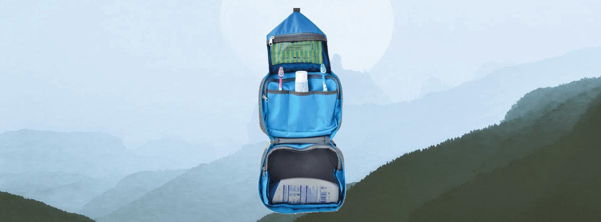 campout kişisel bakım çantası