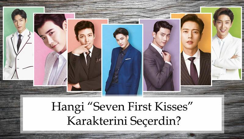 """Hangi """"Seven First Kisses"""" Karakterini Seçerdin?"""