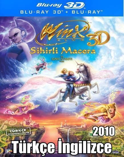 Winx Club: Sihirli Macera 3D – TR/ENG –  3dfilmindir