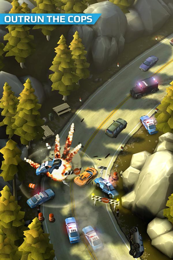 Smash Bandits Racing Apk Mod