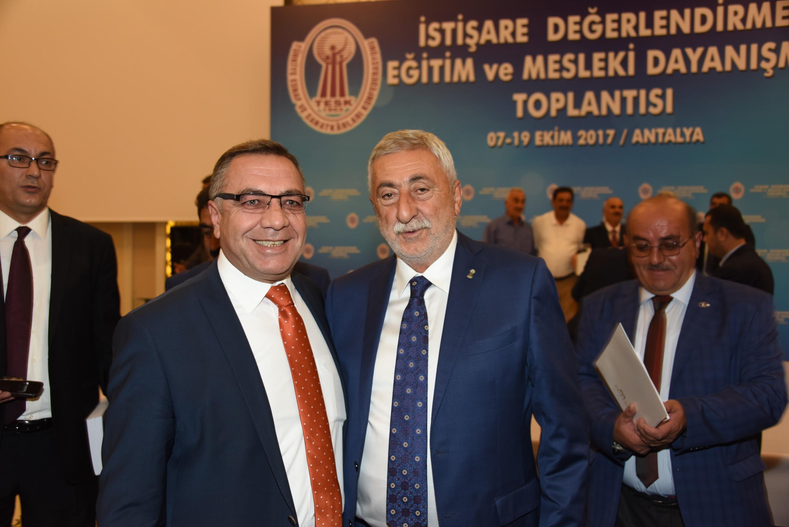 TESK İSTİŞARE TOPLANTISI
