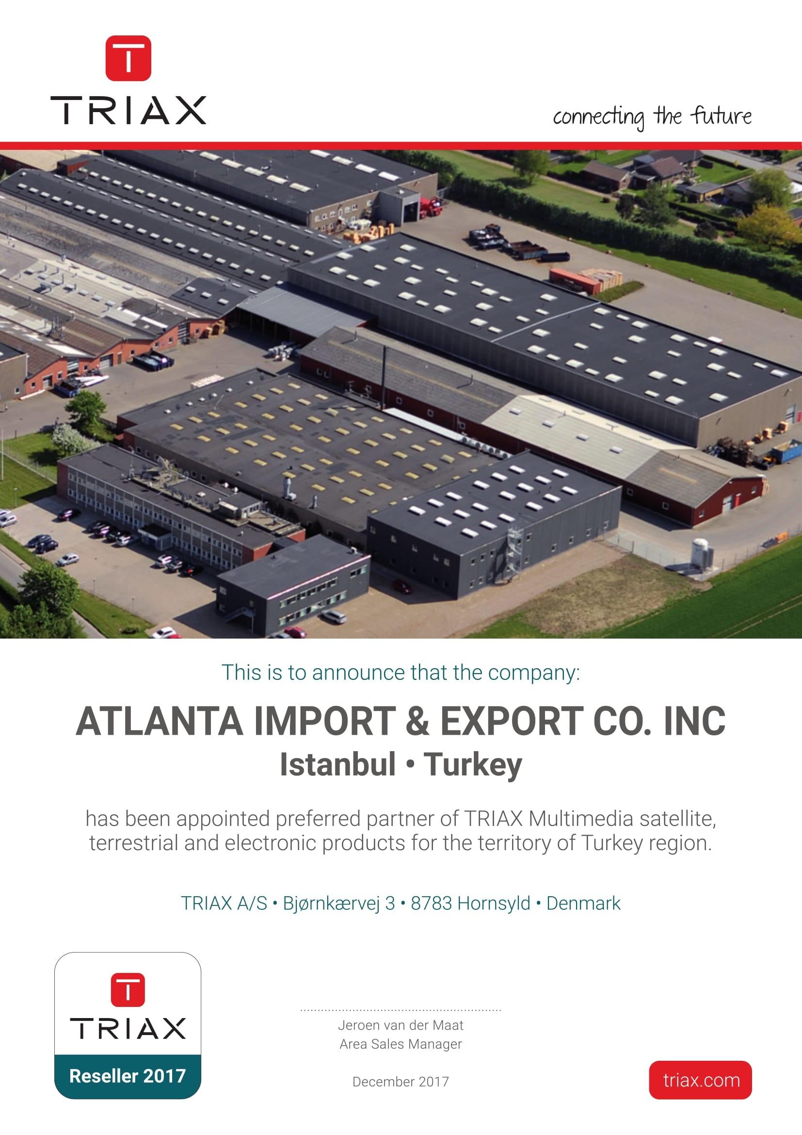 Atlanta Türkiye Distribütör