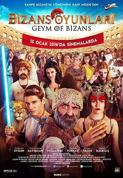 Bizans Oyunları 2016 Yerli Film (HDRip – m1080p) Sansürsüz indir